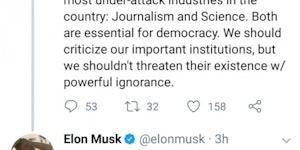 Elon Musk is on a rampage.