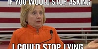 Hillary's reaction to all the accusations of lying