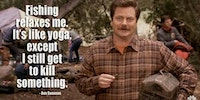 Logic of Ron Swanson.