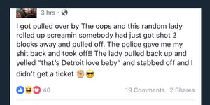 Detroit love, baby.