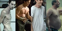 The many builds of Christian Bale