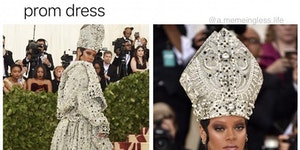 Get that Pope look.