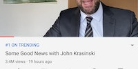 Jimothy made a channel dedicated to only good news, BTW.