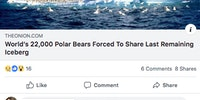 Good thing polar bears eat onions.