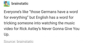 Those crazy Germans...