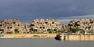 Habitat 67 - A housing complex in Montreal, Canada