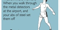 Why I hate metal detectors.