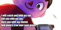 I will erase you...