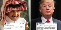 Trump vs the Saudi Prince