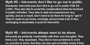 Myths About Introverts