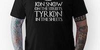 Jon Snow on the streets...