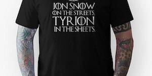 Jon Snow on the streets...