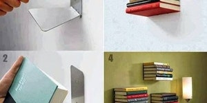 DIY Invisible Book Shelf
