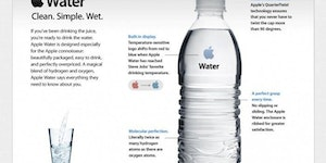 If Apple made water.