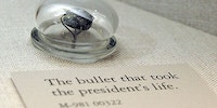 The bullet that killed Abraham Lincoln.