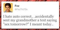 Freaking Fez...