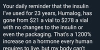 On medicine, life, and money.