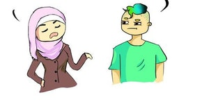 Your Hijab is offensive.