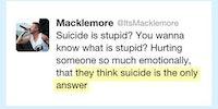 Macklemore Saying It Like It Is