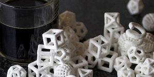 3D printed sugar cubes.