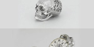 17th century skull pocket watch.