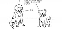 We could learn a lot from dogs.
