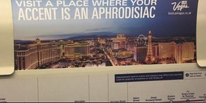 How Vegas is advertised to Londoners