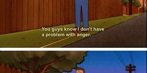 I don;'t have an anger problem...