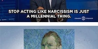 Narcissism is not a millennial thing