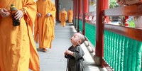 The tiniest Monk.