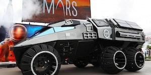 NASA's Mars rover concept.