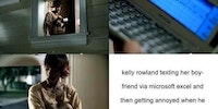 Kelly Rowland can't even text right...