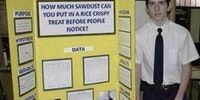 It's science fair season.