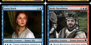 Game of Thrones Magic cards.