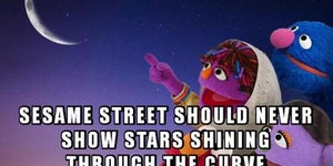 Come on Sesame Street. Step up your game...