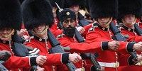 First soldier to wear turban instead of bearskin hat, UK