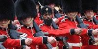 First soldier to wear turban instead of bearskin hat, UK
