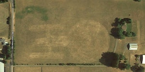 A farm in Oregon has the Enterprise tilled into it