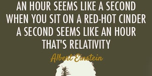 Understanding relativity.