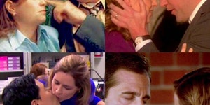 Some of the sweetest Jim and Pam moments