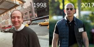 Amazon CEO 1998 vs Today