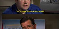 I would go gay for Colbert.