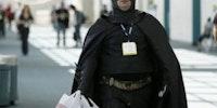 When Batman goes shopping...