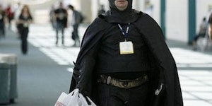 When Batman goes shopping...