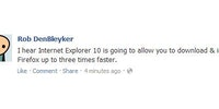 Internet Explorer 10 rumors.