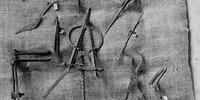 Roman surgical instruments found in a physician's home in Pompeii.