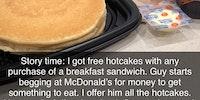 Pancakes won't satisfy this hunger...