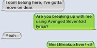 Best breakup ever.