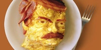 Breakfast with Ron Swanson.