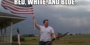 I'm so freaking patriotic...
